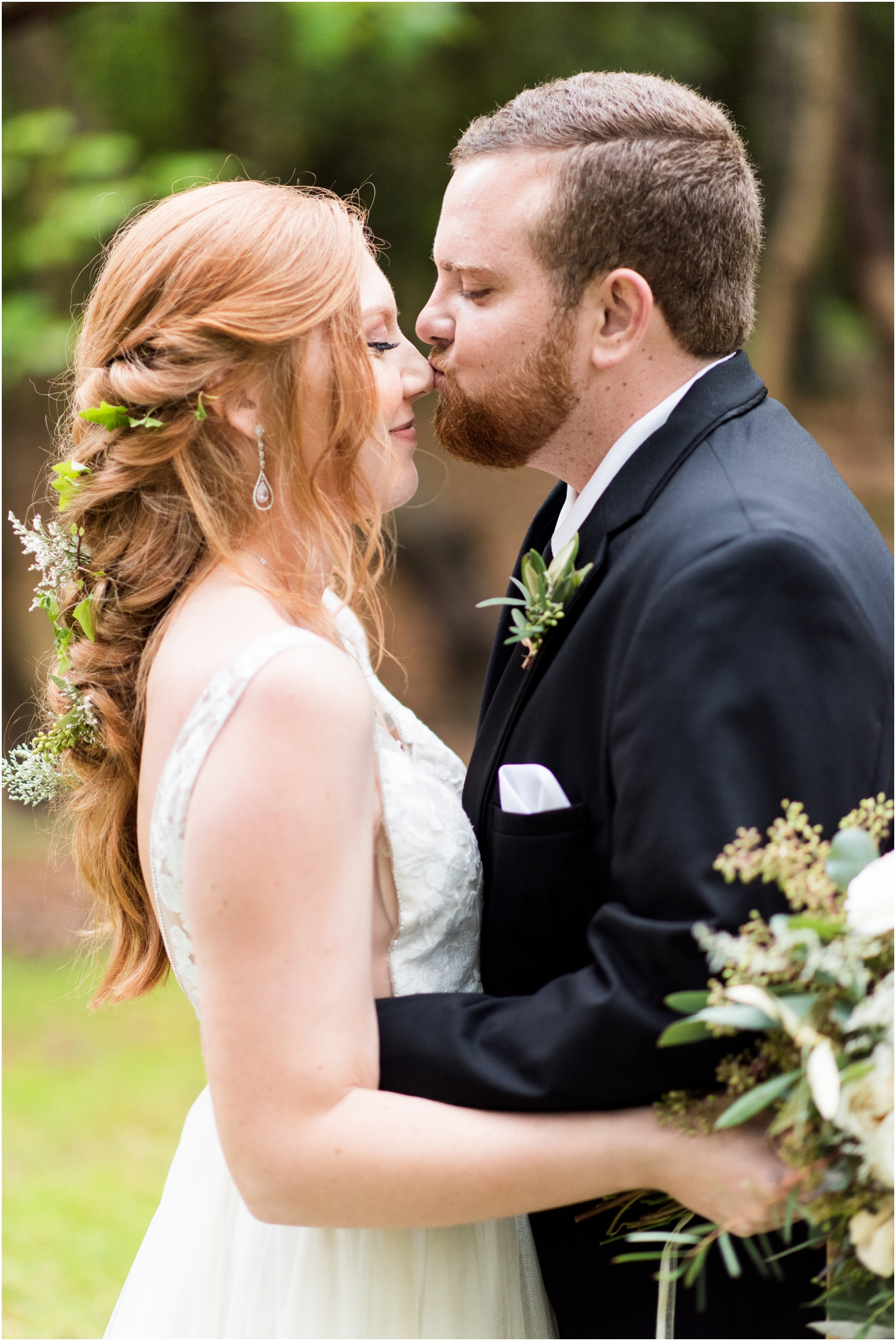 Live Oak Plantation Pensacola Florida Wedding Photographer bride groom portraits