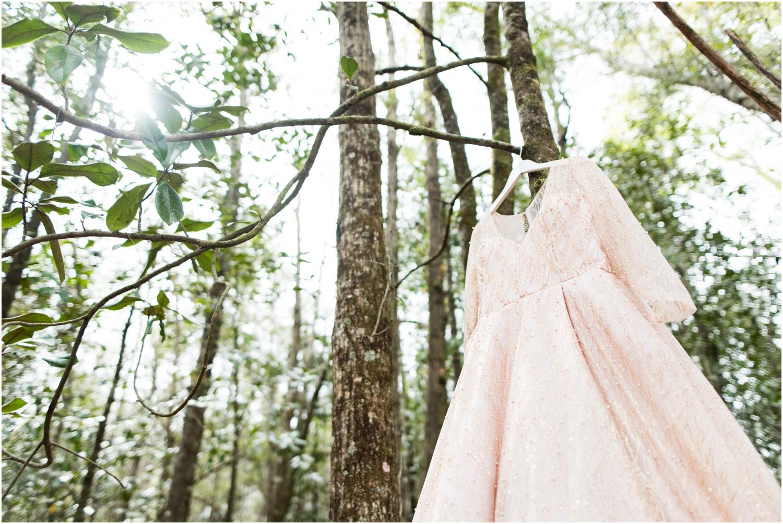Coldwater Gardens woodsy wedding milton florida photographer brides gown