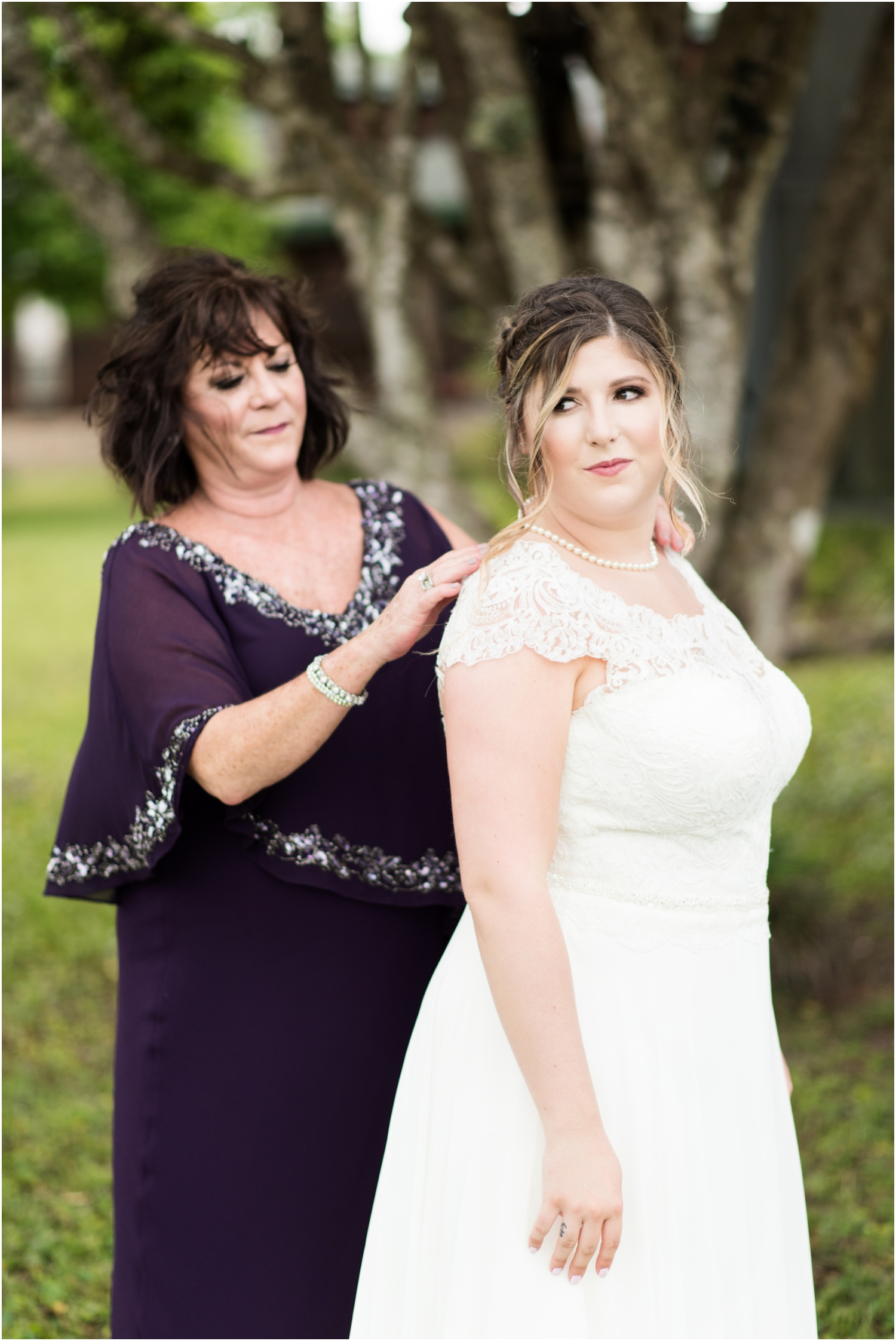 Sowell Farms Milton Florida Rustic Woodsy Barn Wedding Photographer getting ready bride gown bridesmaids