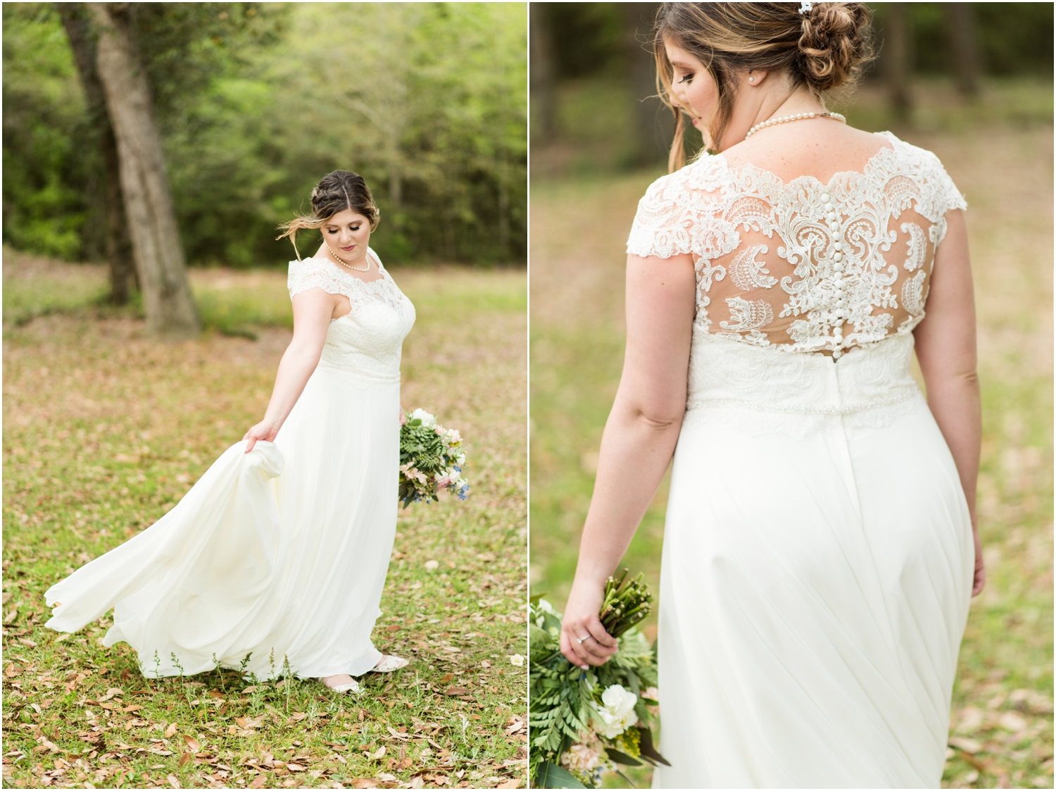 Sowell Farms Milton Florida Rustic Woodsy Barn Wedding Photographer bridal portrait