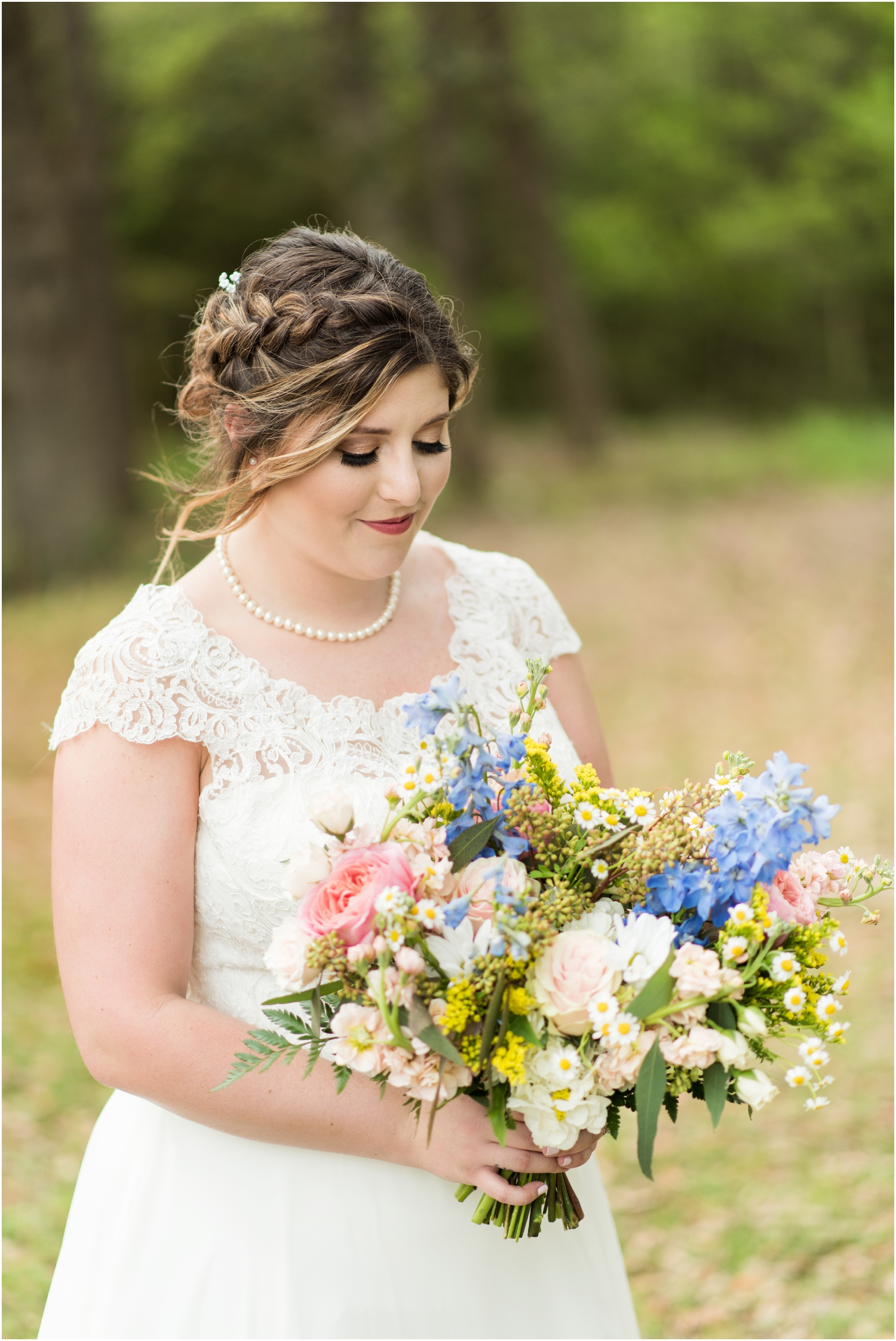 Sowell Farms Milton Florida Rustic Woodsy Barn Wedding Photographer bridal portrait supposey
