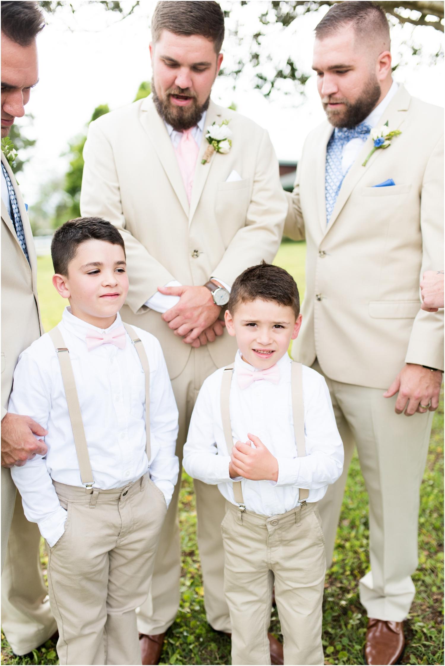 Sowell Farms Milton Florida Rustic Woodsy Barn Wedding Photographer groom groomsmen