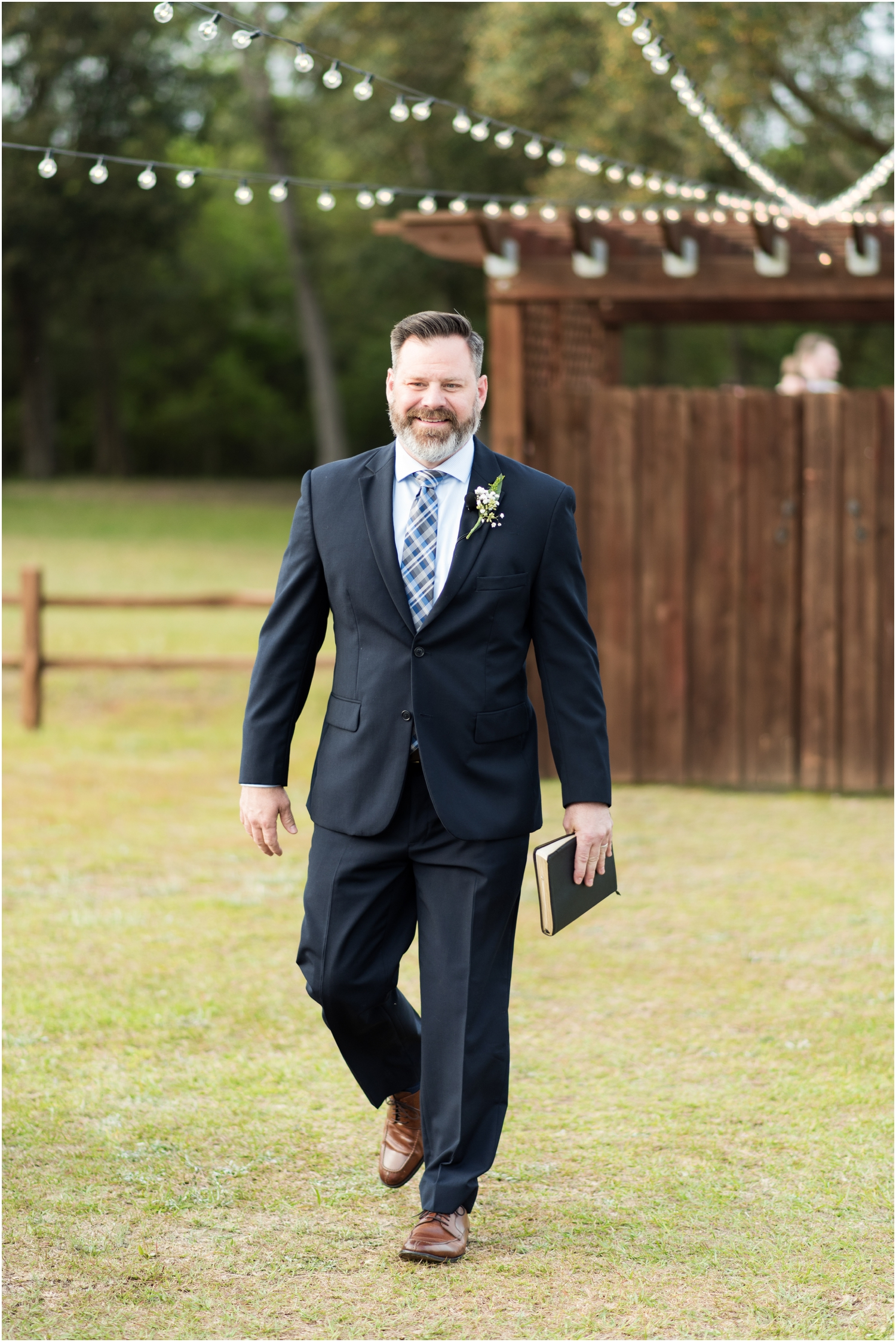 Sowell Farms Milton Florida Rustic Woodsy Barn Wedding Photographer ceremony details