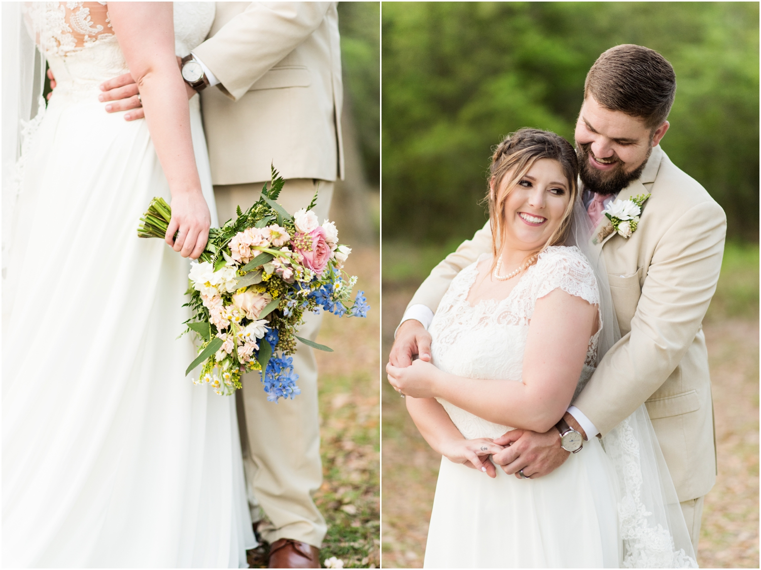 Sowell Farms Milton Florida Rustic Woodsy Barn Wedding Photographer bride groom portraits