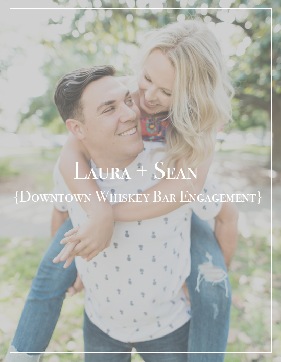Laura + Sean | Old Hickory Whiskey Bar & Fort Pickens Engagement Photographer