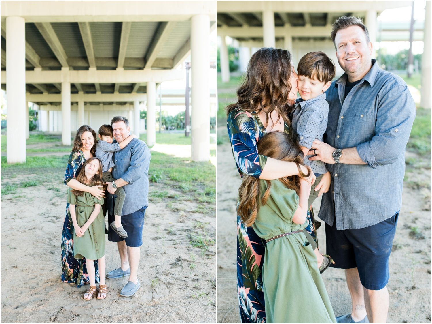 Downtown Pensacola Polonza Bistro Breakfast Family Session Photographer