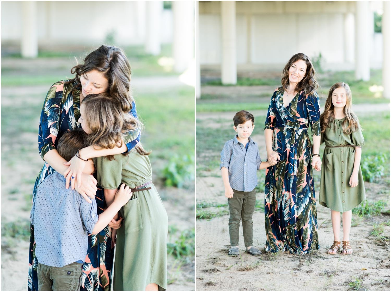 Downtown Pensacola Polonza Bistro Breakfast Family Session Photographer