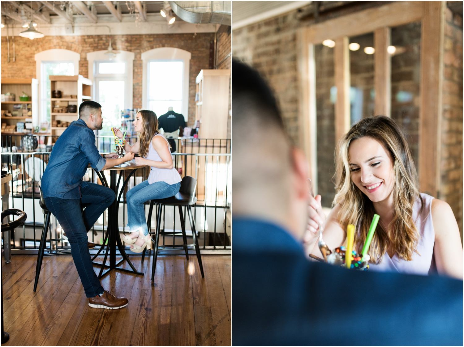 Downtown Pensacola Beach Engagement Session Bodacious Brew