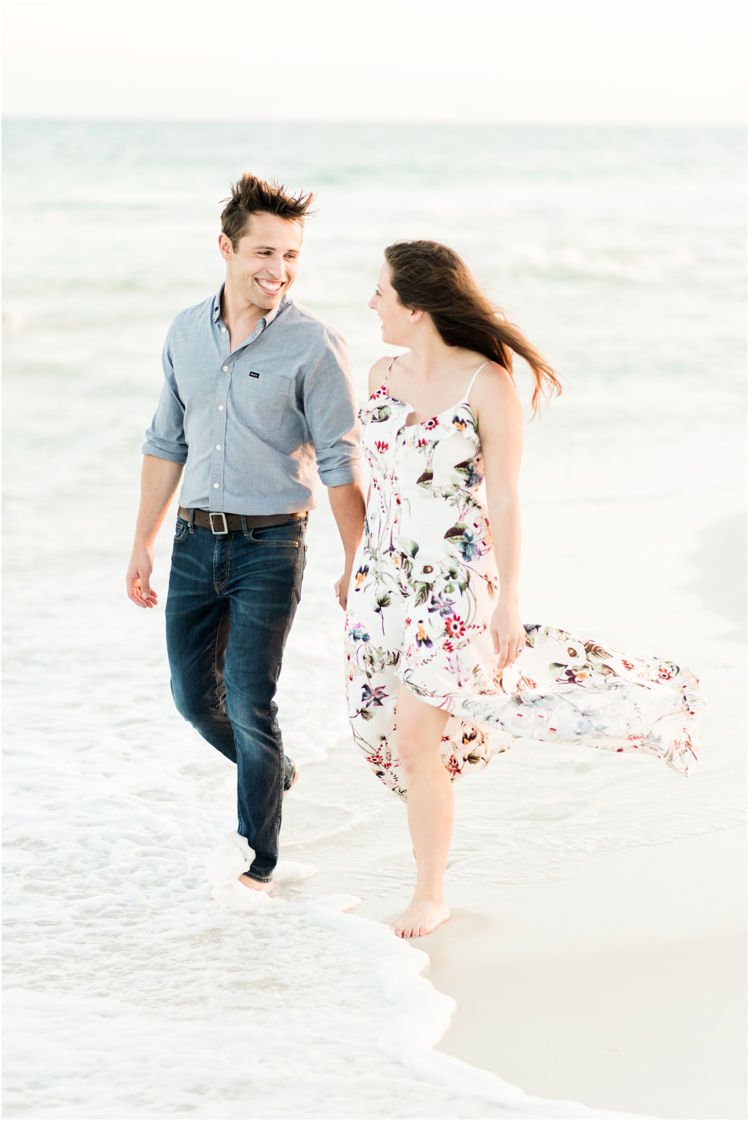 Fort Pickens Pensacola Beach Engagement Session