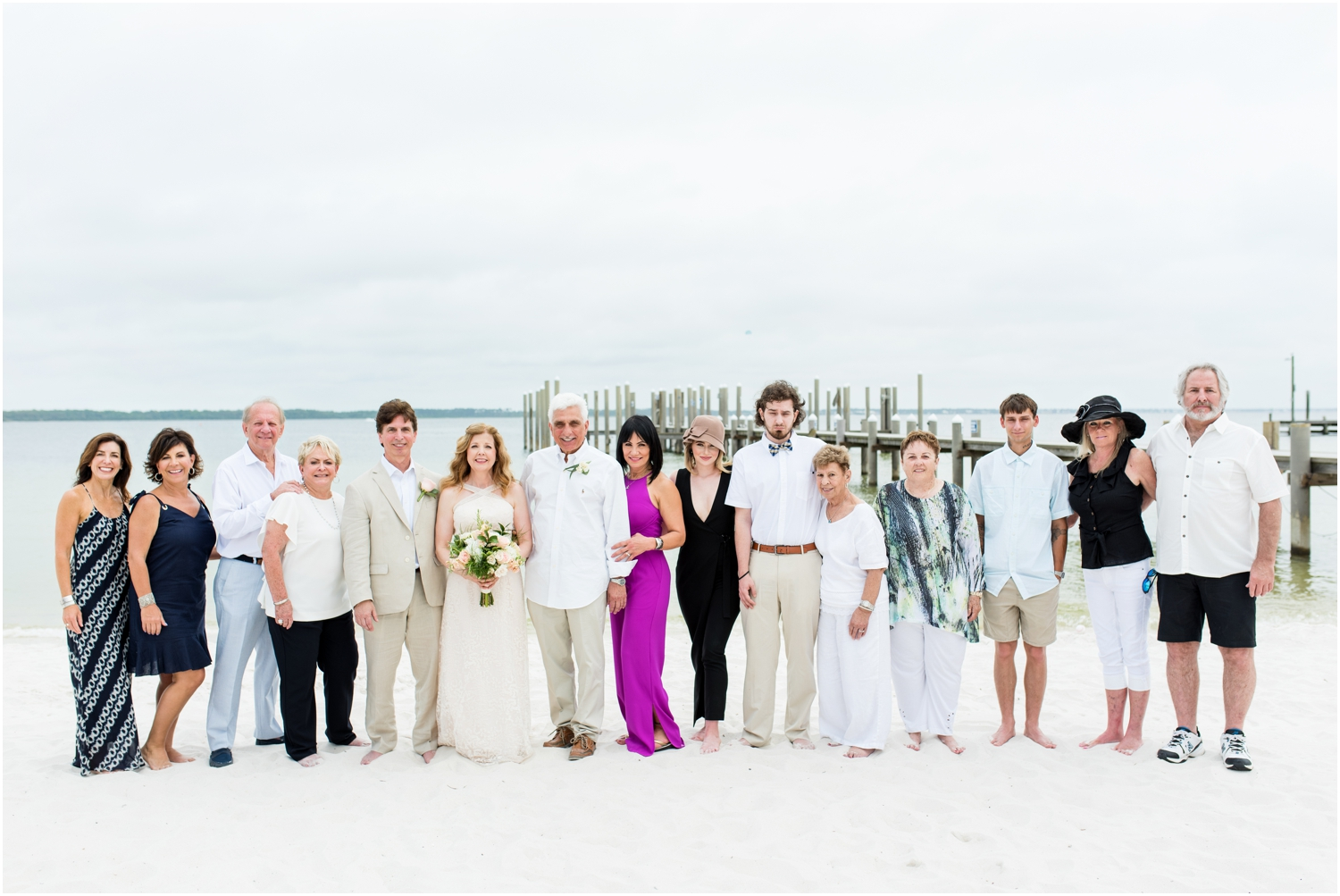 Hemingway's Pensacola Beach Rainy Day Wedding Photographer