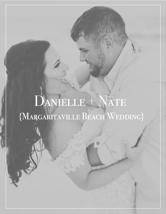 Danielle + Nate's Margaritaville and Landshark Wedding | Pensacola Beach Photographer