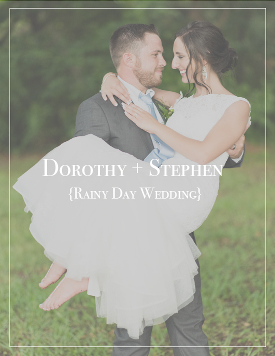 Dorothy + Stephen's Rainy Day Church Wedding | Pensacola Florida Photographer