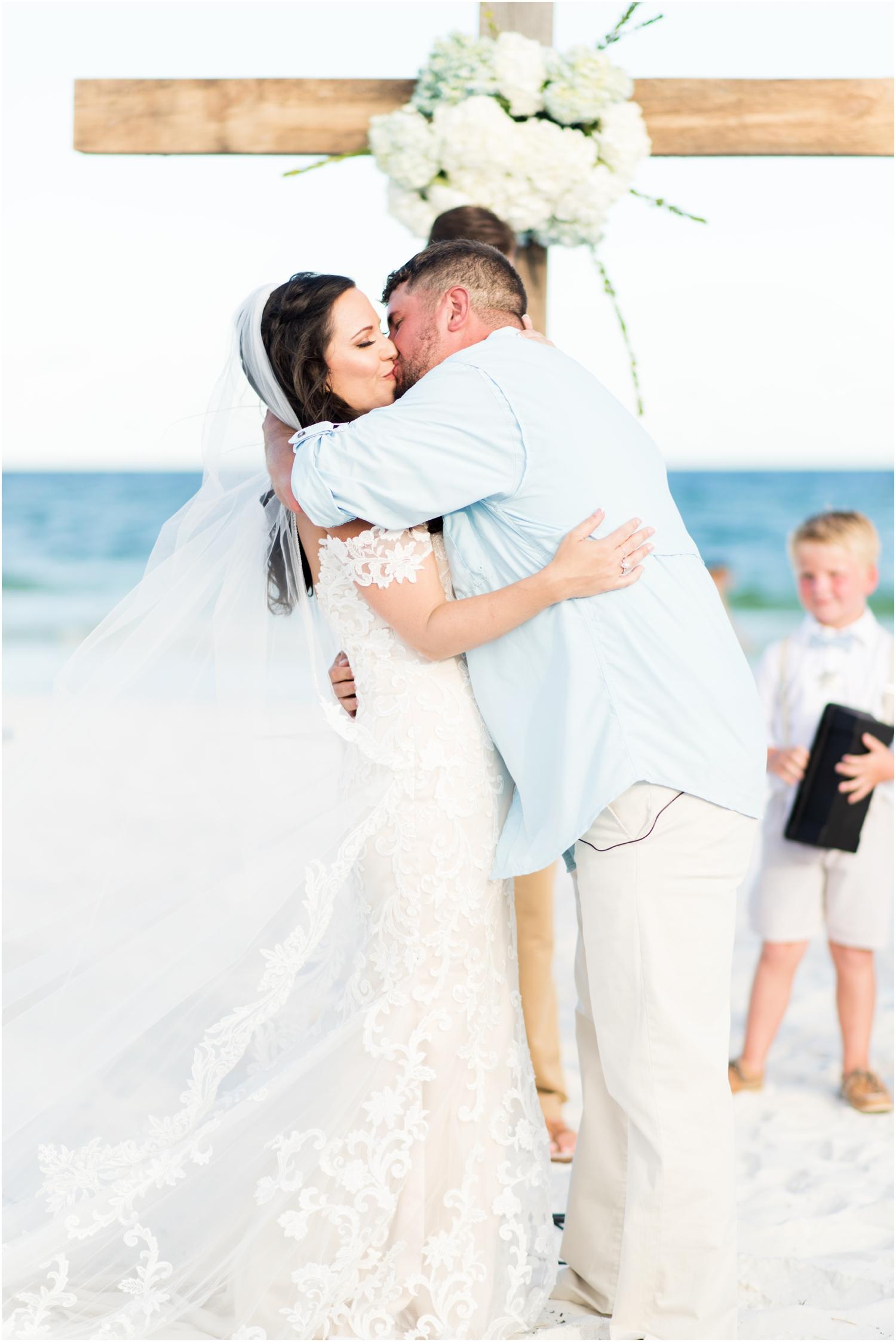 Danielle and Nate's Margaritaville Hotel Landshark Landing Pensacola Beach Wedding Photographer