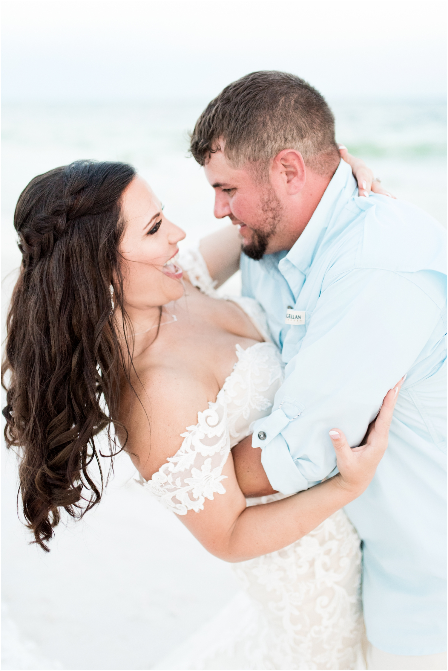 Danielle and Nate's Margaritaville Hotel Landshark Landing Pensacola Beach Wedding Photographer