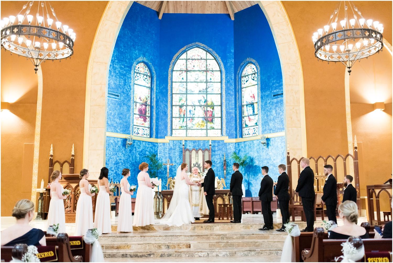 Pensacola Country Club St Pauls Catholic Church Florida Wedding