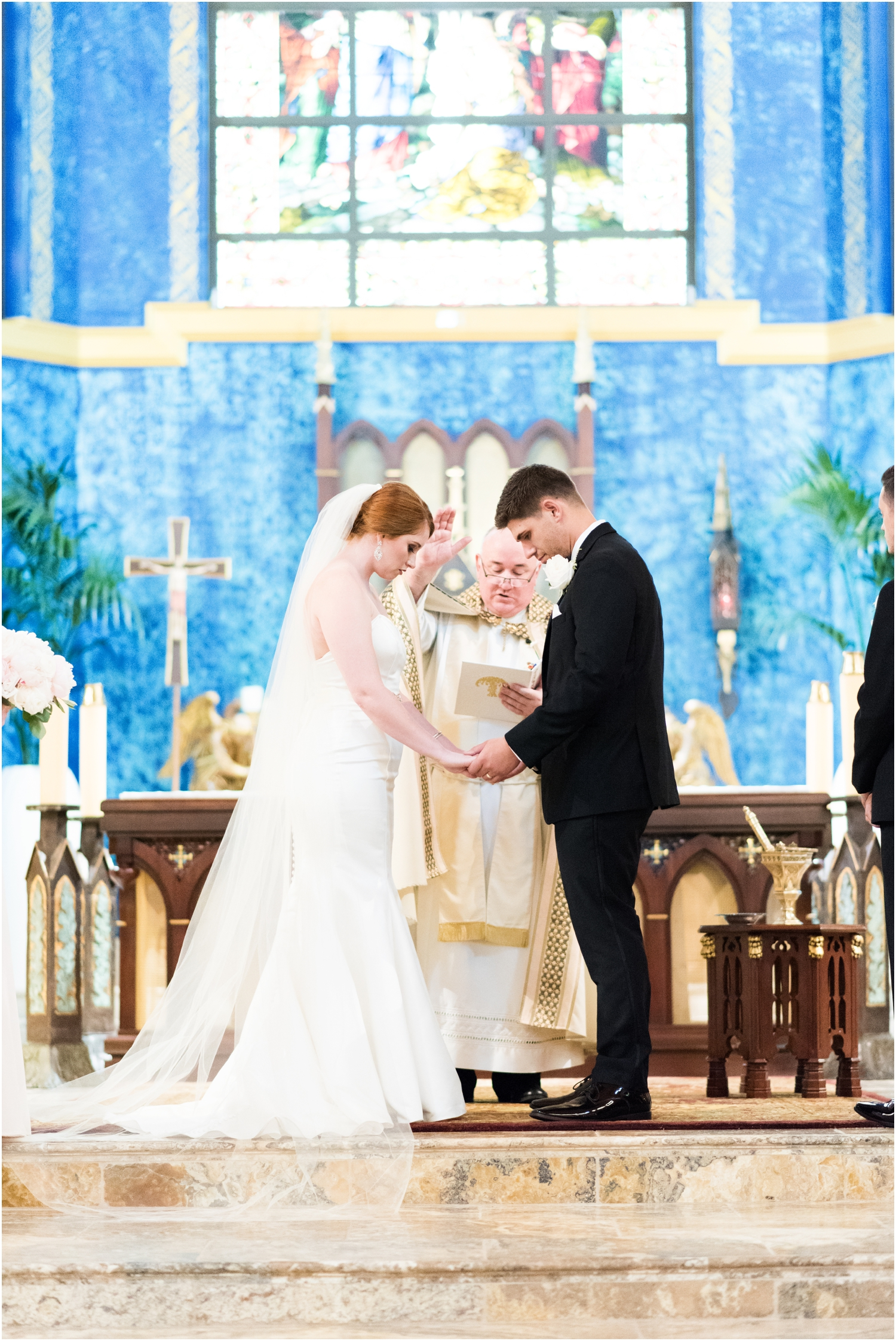 Pensacola Country Club St Pauls Catholic Church Florida Wedding