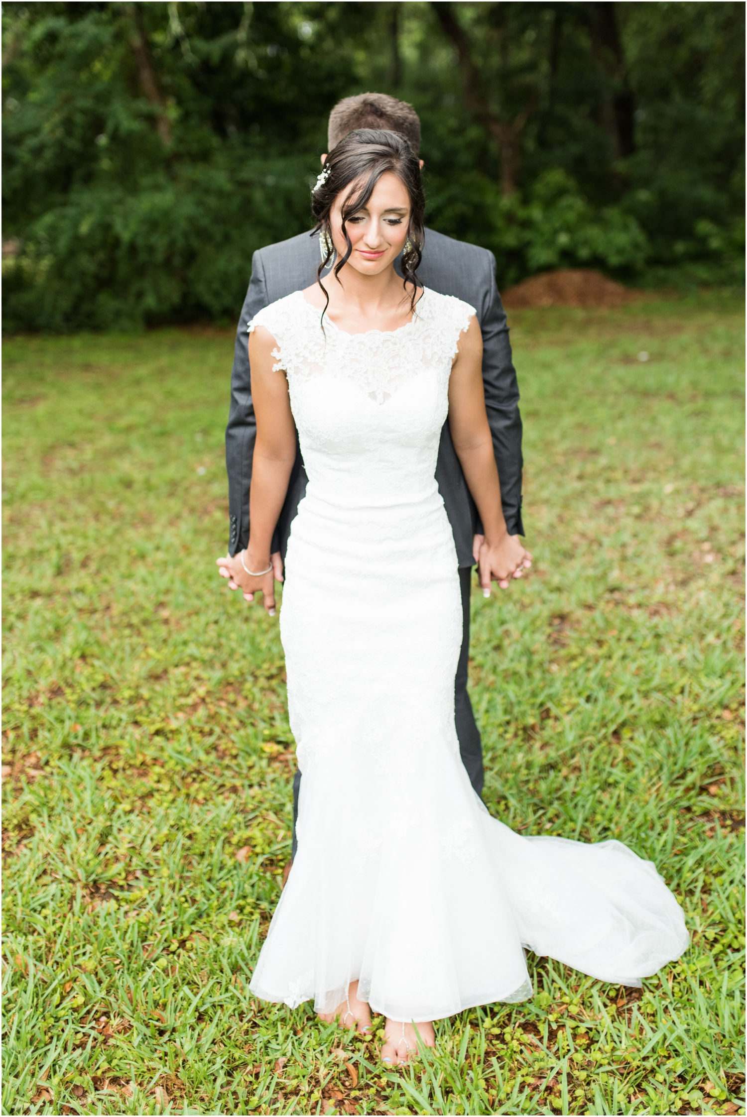 Pensacola Florida Rainy Day Church Wedding