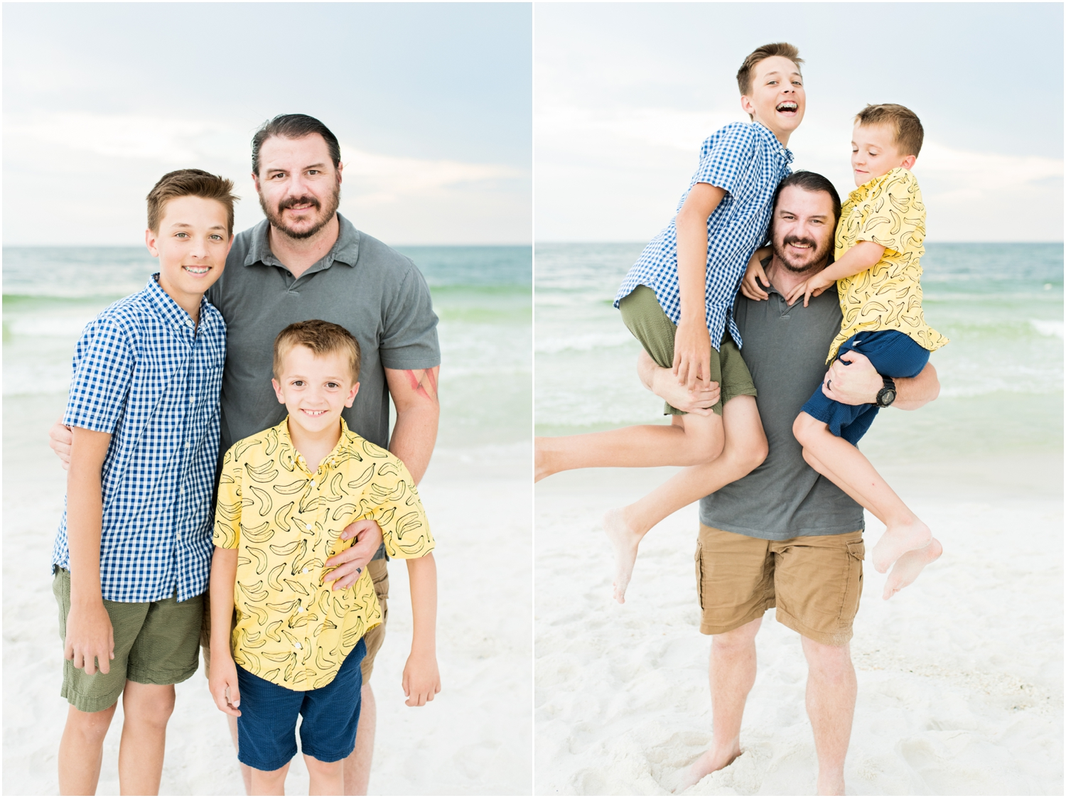 pensacola beach fort pickens family session photographer