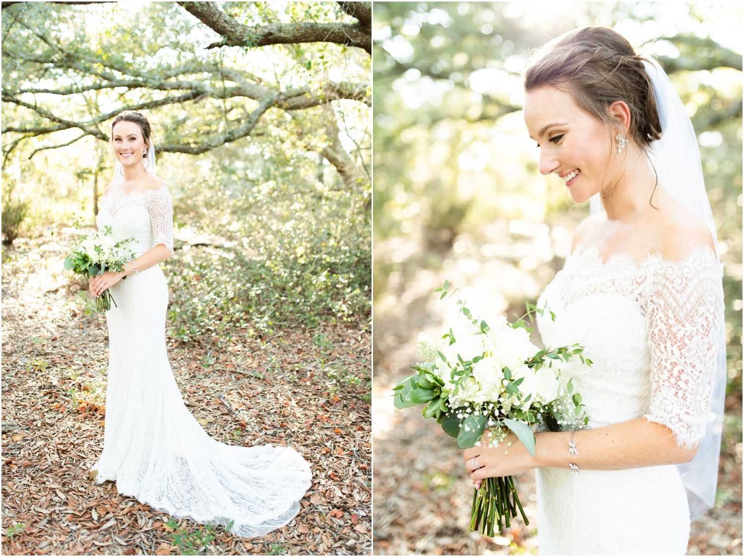 Big Lagoon Park Woodsy Wedding Photographer water view bride portraits