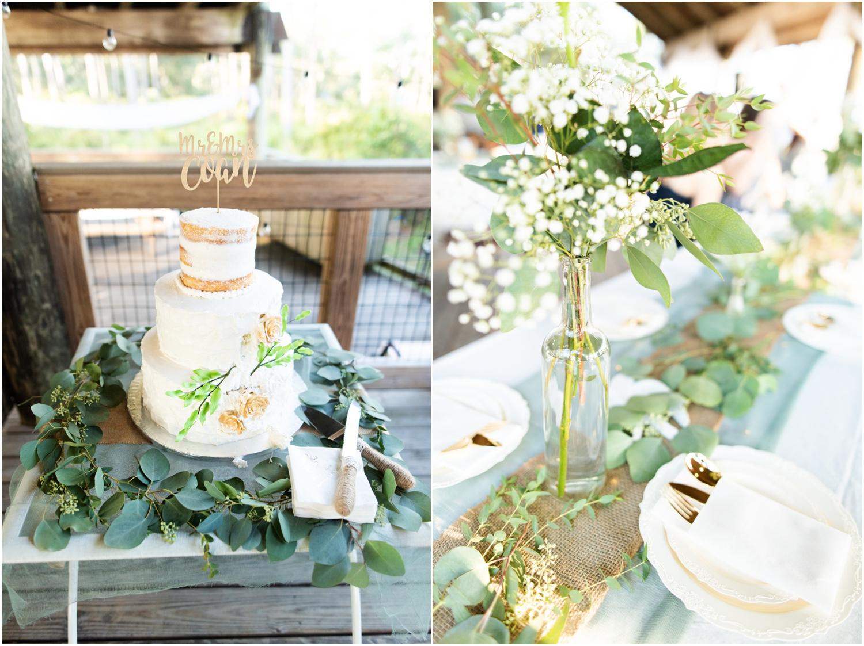 Big Lagoon Park Woodsy Wedding Photographer reception details