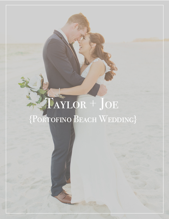 Taylor + Joe's Portofino Beach Wedding | Pensacola Photographer