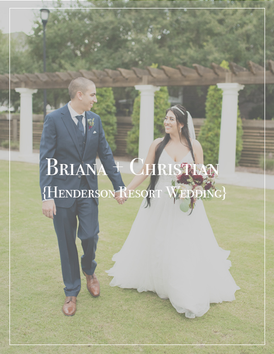 Briana + Christian's Henderson Beach Resort Wedding | Destin Florida Photographer