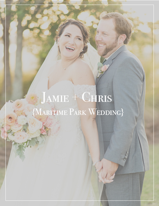 Jamie + Chris's Downtown Pensacola Maritime Park Wedding | Palafox House Photographer
