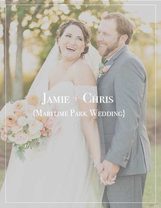 Jamie + Chris's Downtown Pensacola Maritime Park Wedding | Palafox House Photographer