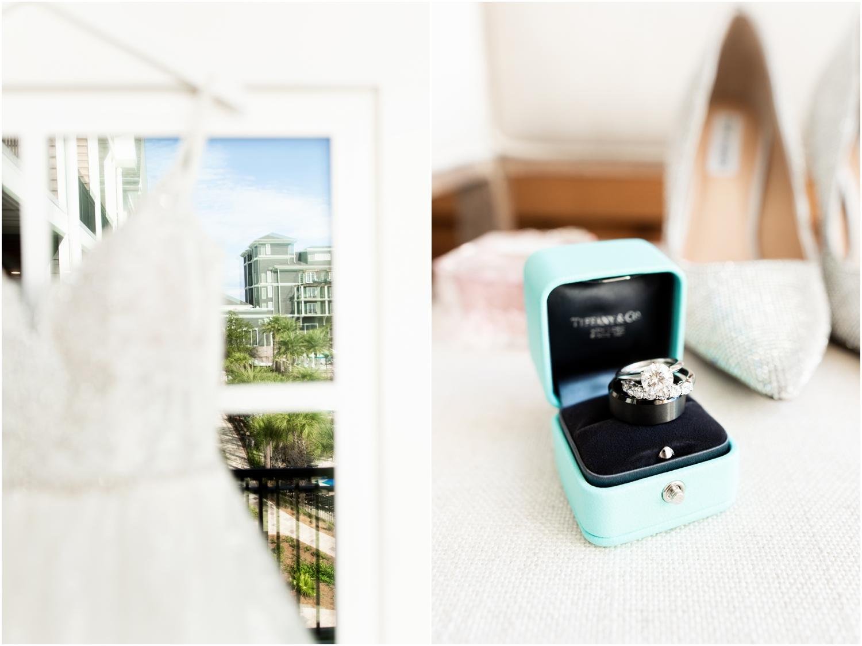 Henderson Beach Resort Inn Destin Florida Wedding Photographer Ring Dress Details