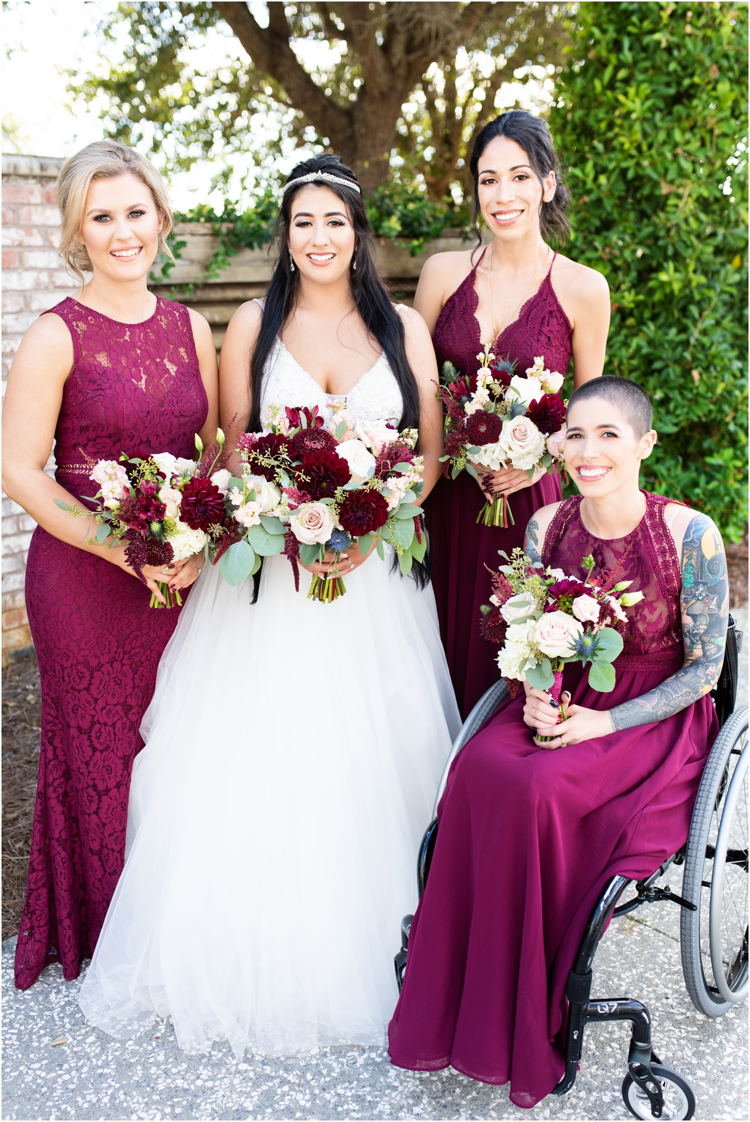 Henderson Beach Resort Inn Destin Florida Wedding Photographer Bride and bridesmaids