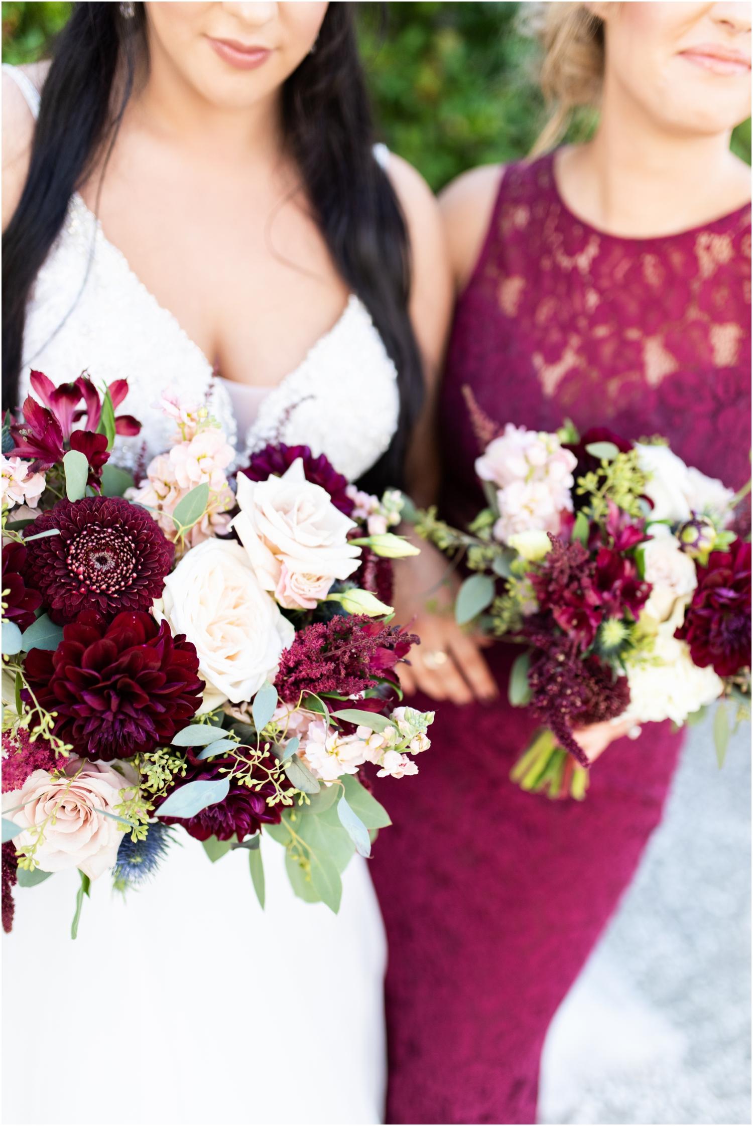 Henderson Beach Resort Inn Destin Florida Wedding Photographer Bride and bridesmaids florals bouquets