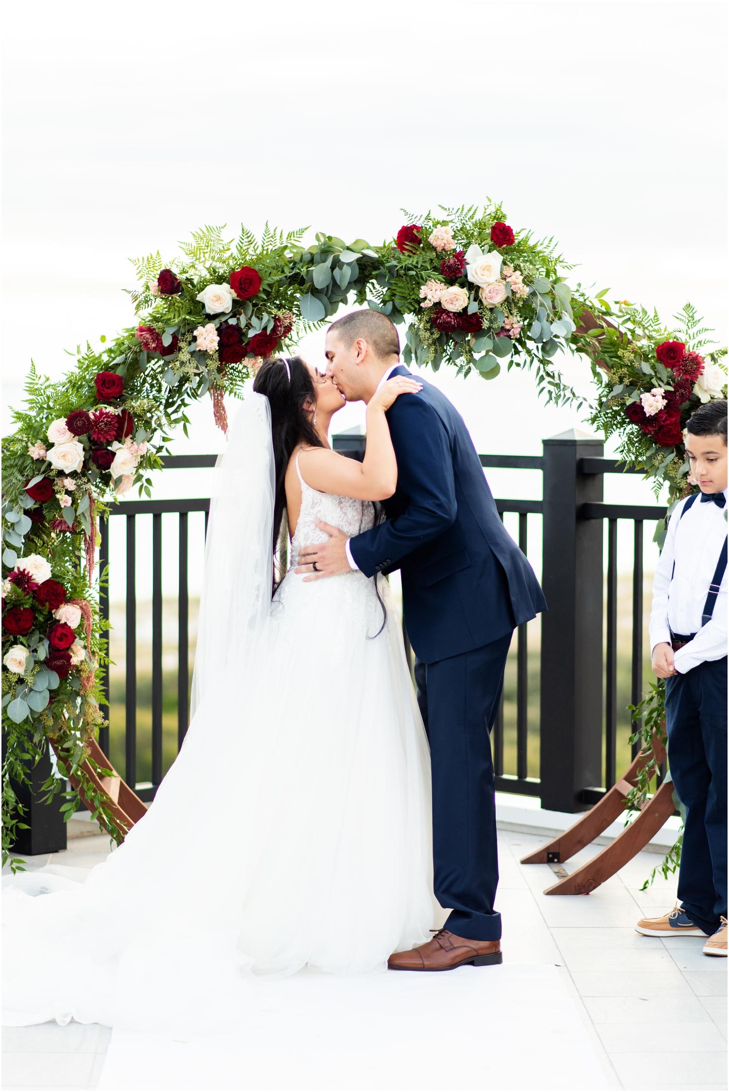 Henderson Beach Resort Inn Destin Florida Wedding Photographer rooftop ceremony