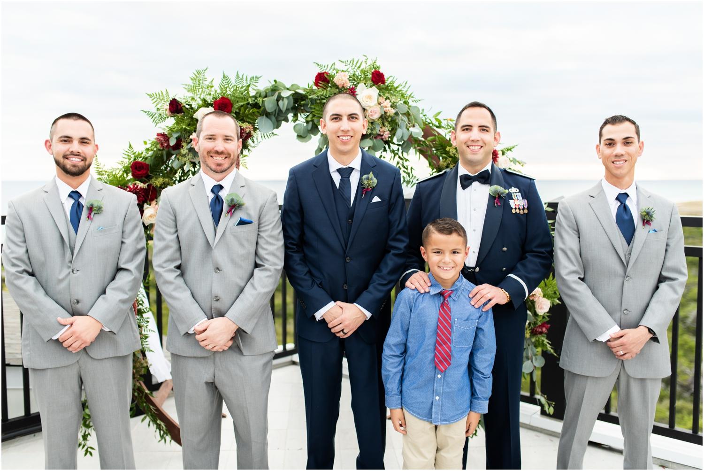 Henderson Beach Resort Inn Destin Florida Wedding Photographer groom and groomsmen