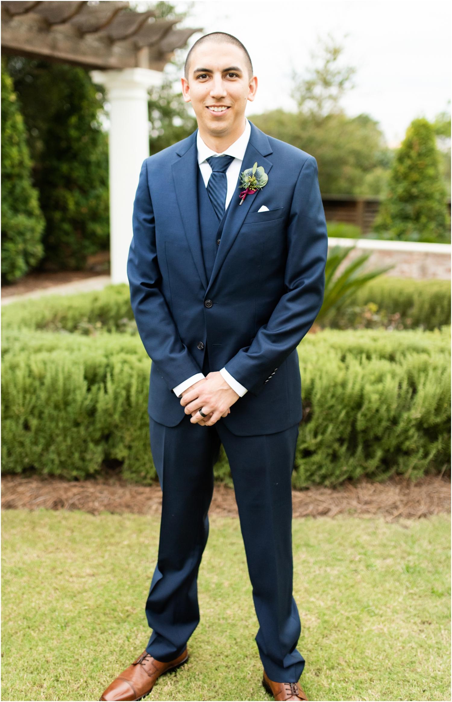 Henderson Beach Resort Inn Destin Florida Wedding Photographer Groom Portrait