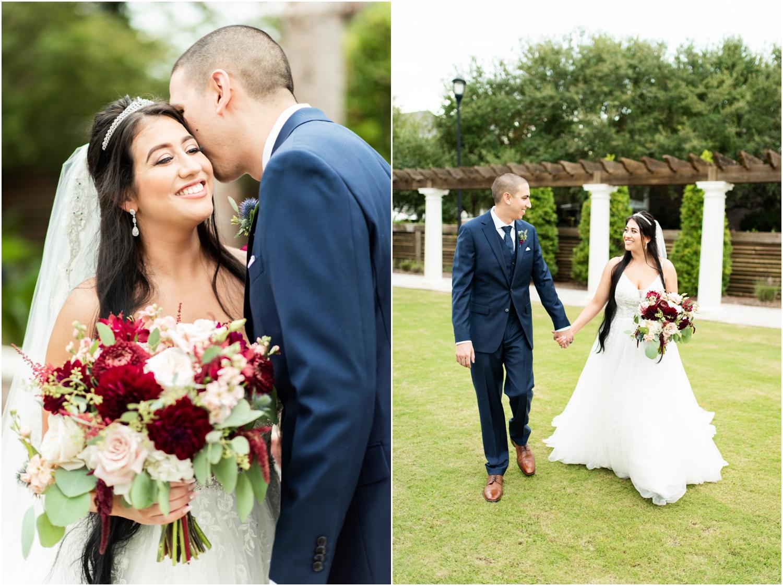 Henderson Beach Resort Inn Destin Florida Wedding Photographer Bride and Groom portrait sunset