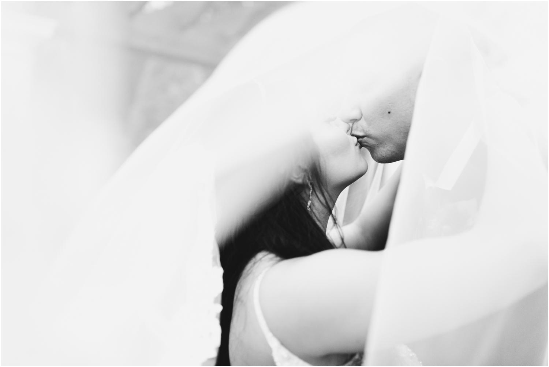 Henderson Beach Resort Inn Destin Florida Wedding Photographer Bride and Groom Veil shot