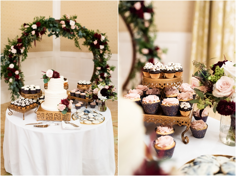 Henderson Beach Resort Inn Destin Florida Wedding Photographer Ballroom Reception Cake Table