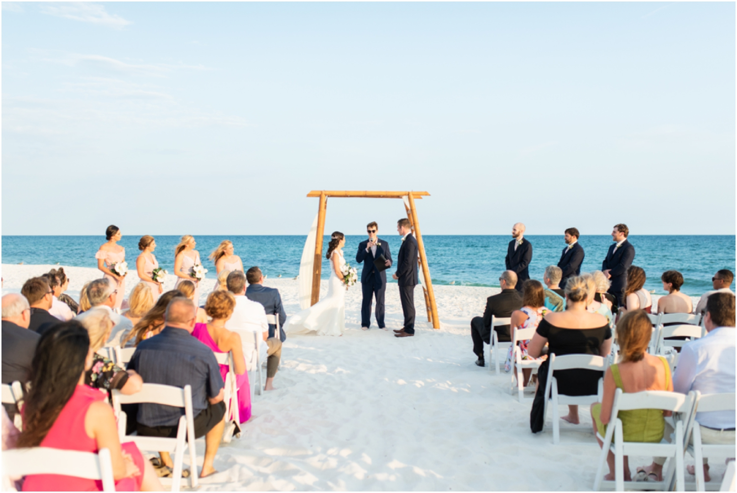 Portofino Island Resort Pensacola Beach Wedding Photographer ceremony