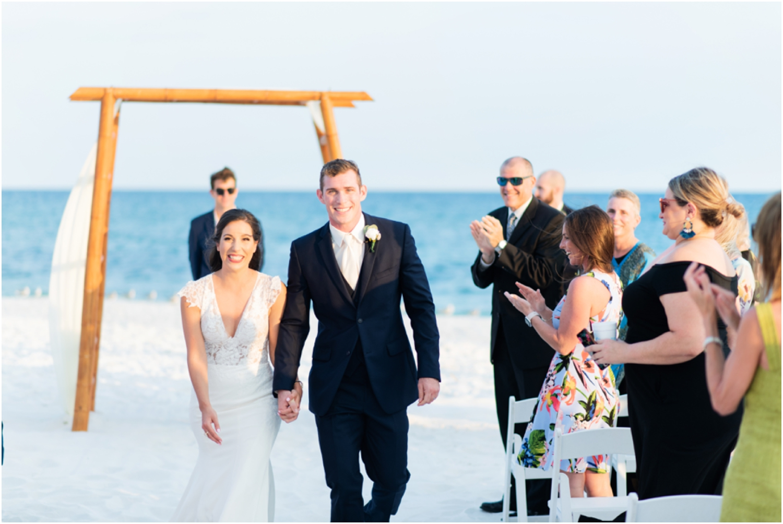 Portofino Island Resort Pensacola Beach Wedding Photographer ceremony