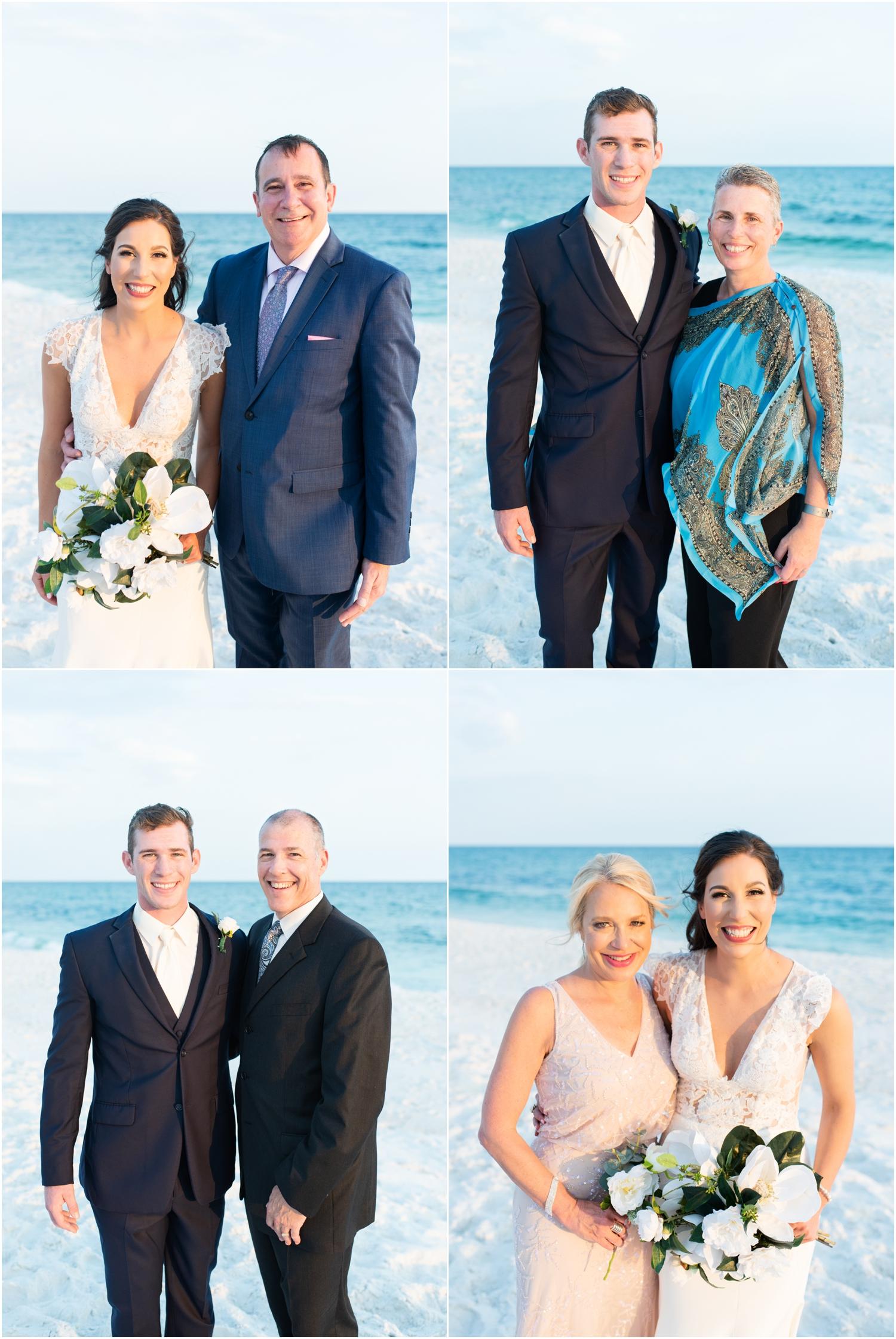 Portofino Island Resort Pensacola Beach Wedding Photographer family photos parents