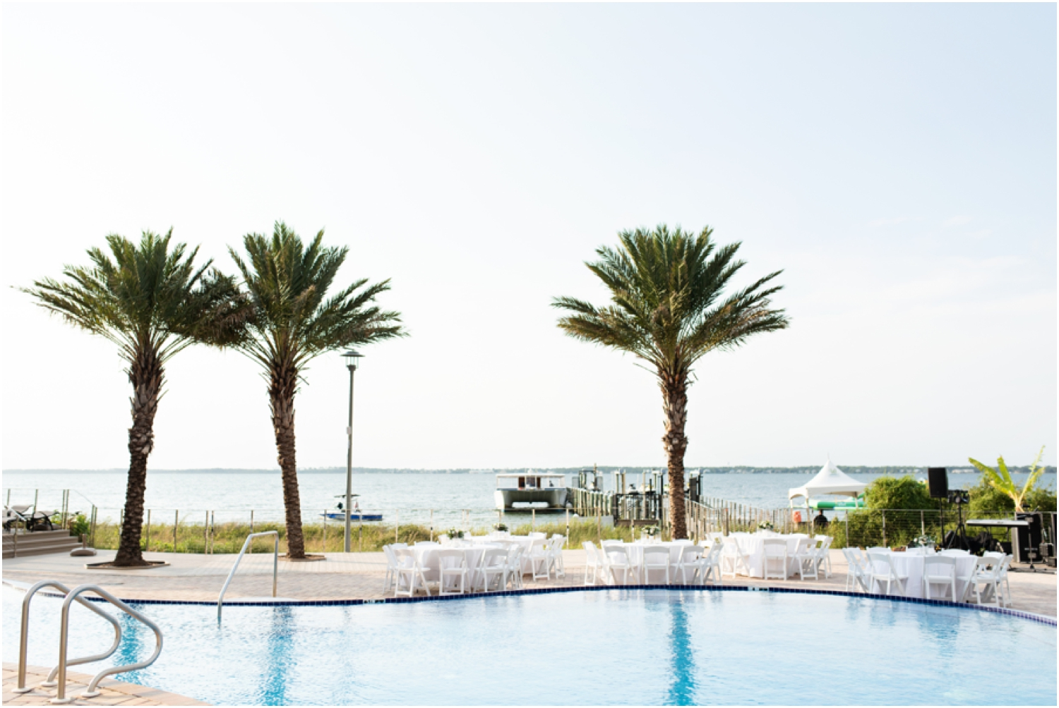 Portofino Island Resort Pensacola Beach Wedding Photographer reception