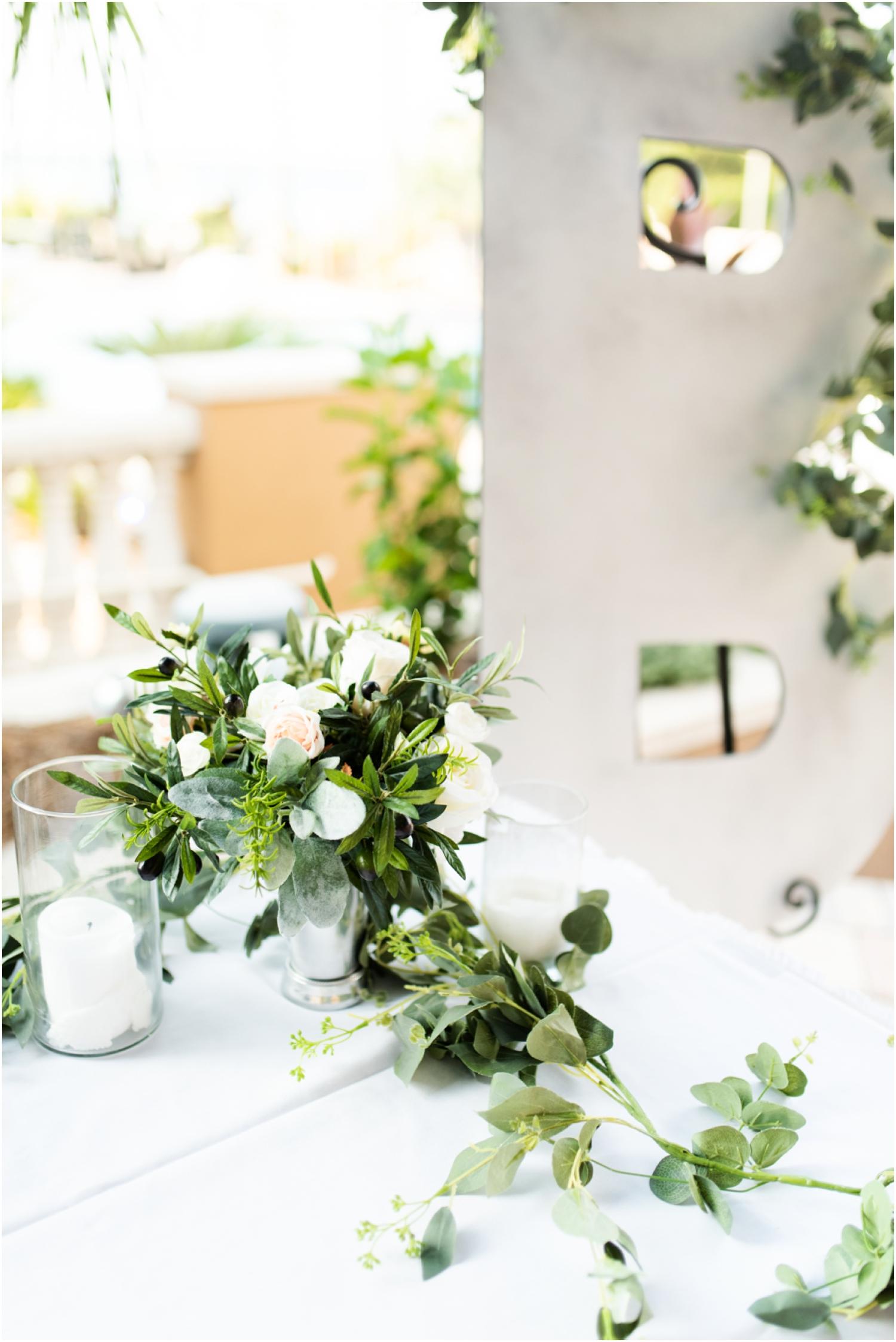 Portofino Island Resort Pensacola Beach Wedding Photographer reception details