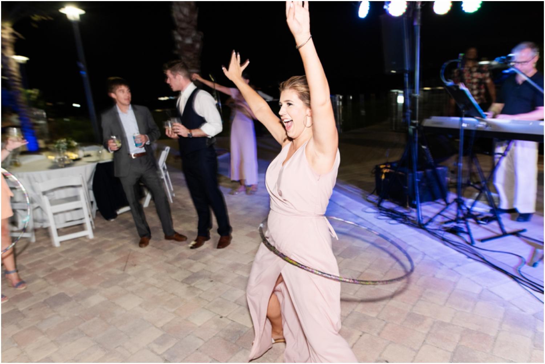 Portofino Island Resort Pensacola Beach Wedding Photographer reception dancing