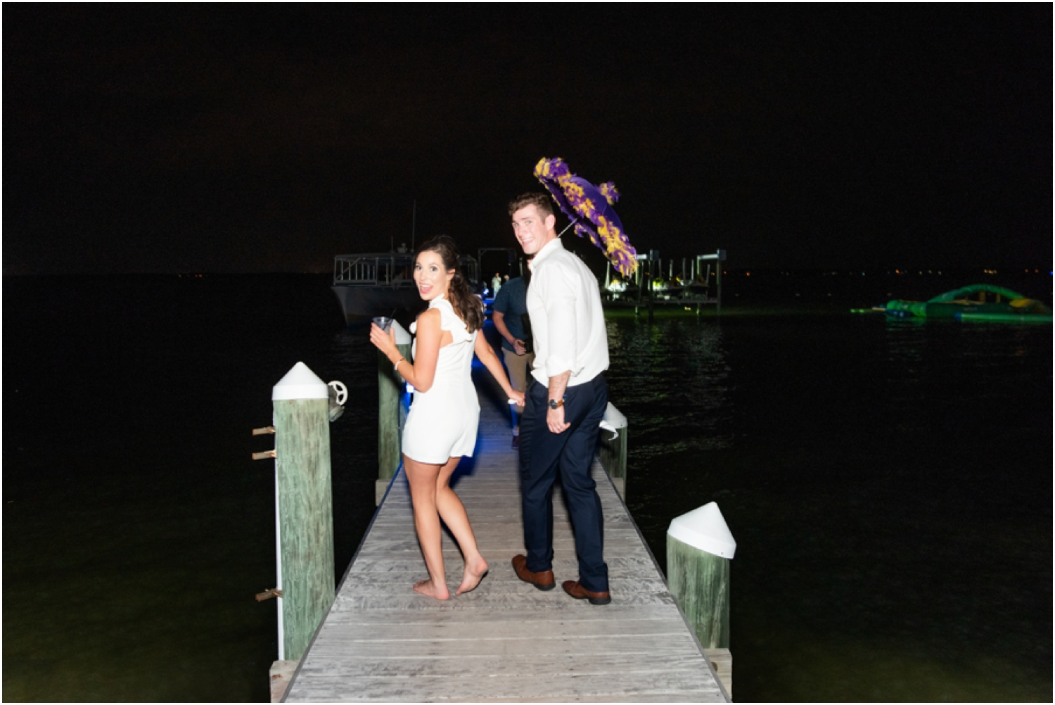 Portofino Island Resort Pensacola Beach Wedding Photographer reception second line new orleans