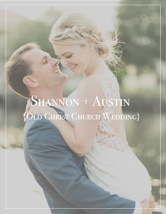 Shannon + Austin's Old Christ Church Wedding | Palafox Wharf Photographer