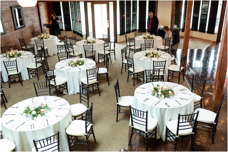 Old Christ Church Palafox Wharf Rainy Day Wedding Reception