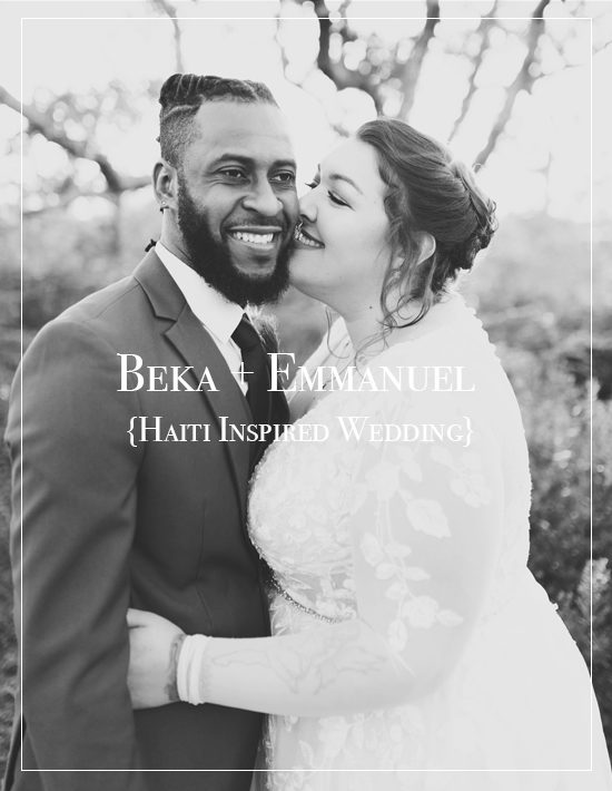 Beka + Emmanuel | Big Lagoon Haiti Inspired Wedding