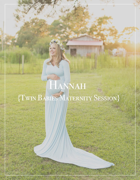 Alabama Maternity Photographer | Hannah's Twin Baby Session