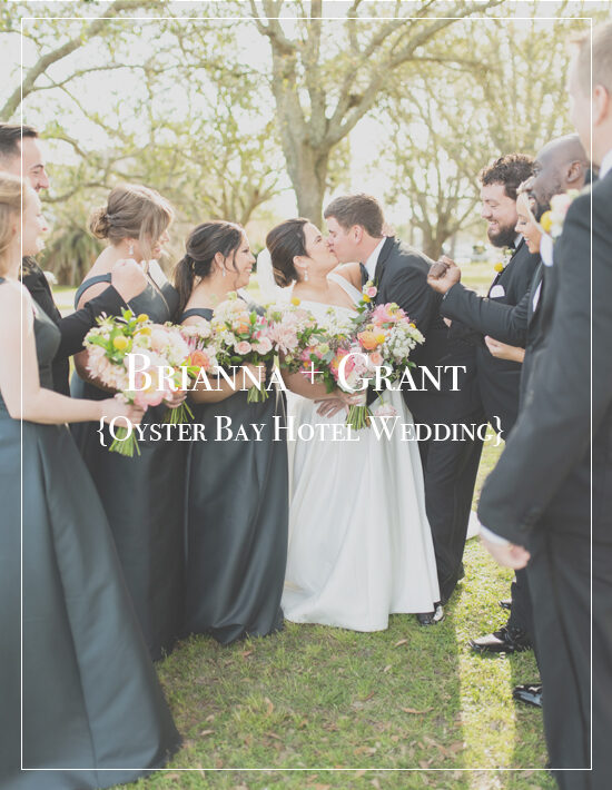 Brianna + Grant | Downtown Pensacola Oyster Bay Hotel Wedding Photographer
